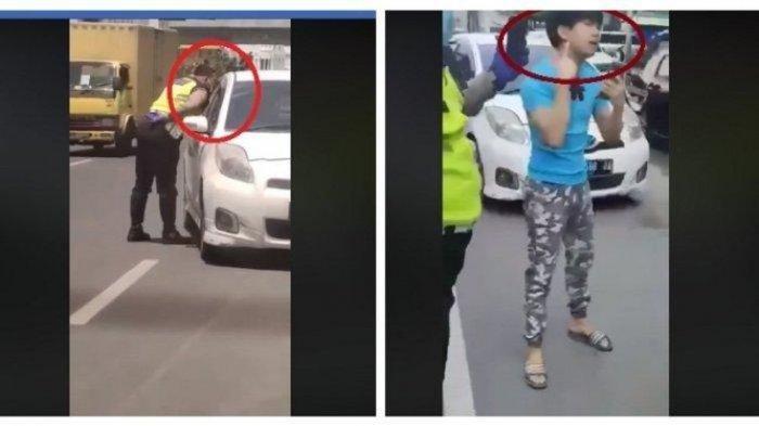 Ketahuan Pungli dan Ludahi Pengendara, Begini Nasib Oknum Polisi Bripka RS, kapolres Minta Maaf