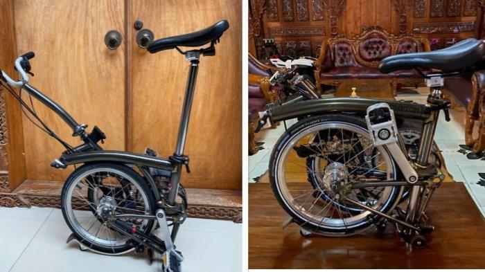 Sepeda Brompton Milik Profesor di Jogja Dicuri, Kurang 24 Jam Kembali Lagi di Tempat Semula