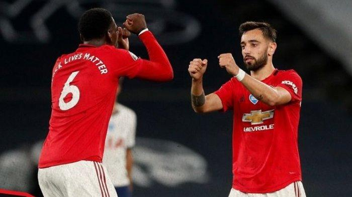 Prediksi Susunan Pemain Manchester United Vs AS Roma Semifinal Liga Europa, Duet Bruno dan Pogba