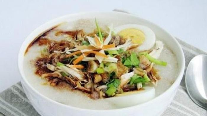 Resep Bubur Ayam Pakai Nasi Sisa Semalam, Gampang Bikinnya
