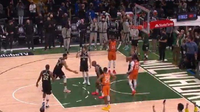 Hasil Final NBA 2021: Kubur Impian Phoenik Suns Milwaukee Bucks Juara