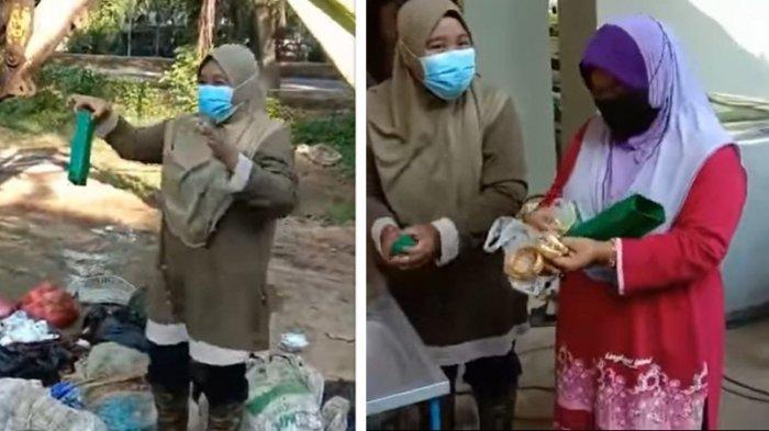 Viral Wanita ini Tak Sengaja Buang Emas Senilai Rp 240 Juta ke Tempat Sampah