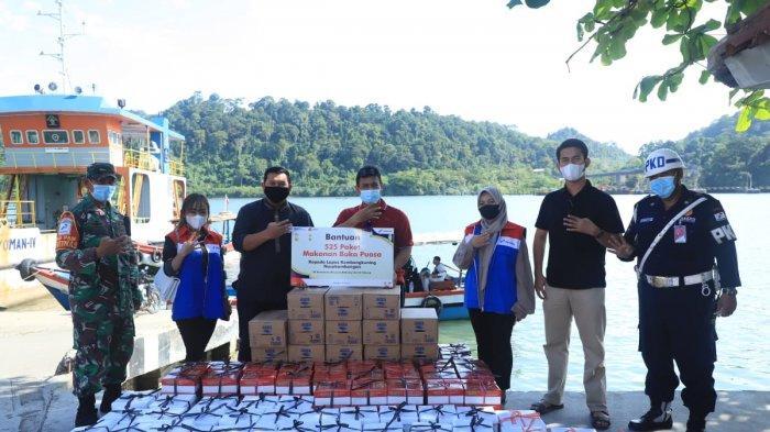 Pertamina Cilacap Bagikan 525 Paket Menu Bukber untuk Warga Binaan Nusakambangan