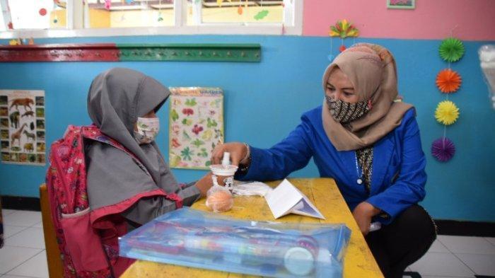 55 PAUD di Banyumas Sudah Mulai Gelar Tatap Muka, Bunda PAUD Erna Husein Pantau Pelaksanaannya
