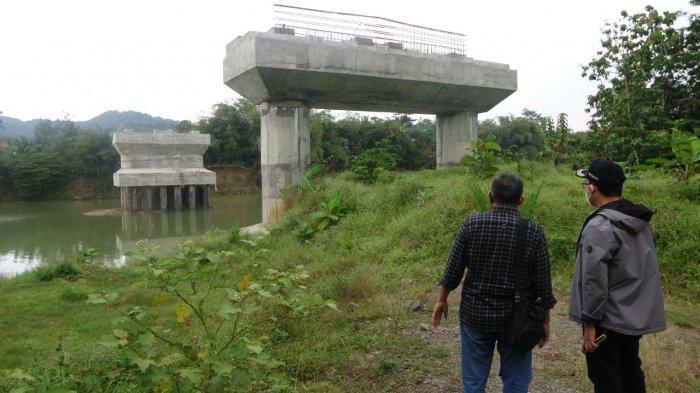 Pembangunan Jembatan Pegalongan-Mandirancan Banyumas Dilanjutkan, Target Akhir Tahun 2021 Selesai