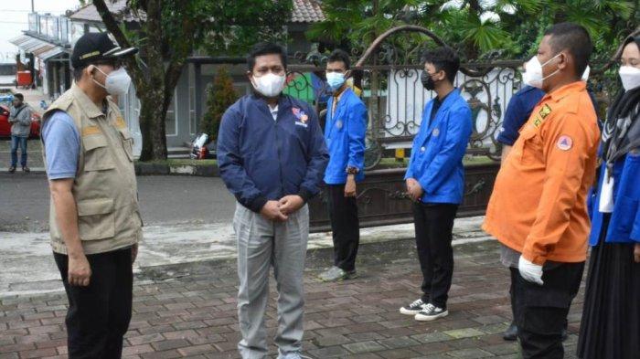 Bupati Banyumas Apresiasi Relawan Mahasiswa UMP yang Dampingi Pasien Covid-19