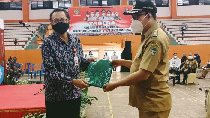 6.540 Pelaku Industri Jasa Keuangan Di Kabupaten Banyumas Divaksin Covid-19