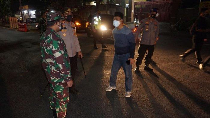 Antisipasi Takbir Keliling, Bupati Batang dan Forkopimda Patroli Malam Idul Adha