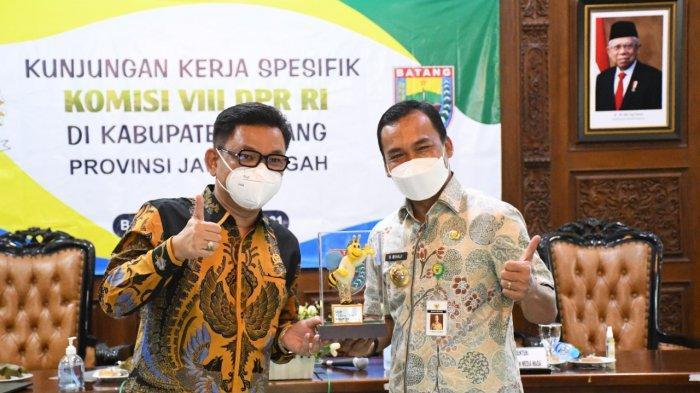 Bupati Batang Wihaji Adukan 7.456 Penerima KKS Saldo Kosong ke Anggota DPR