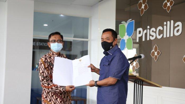 Bupati Cilacap Serahkan SK Operasional RS Priscilla Medical Center, Jadi Tempat Isolasi Covid-19
