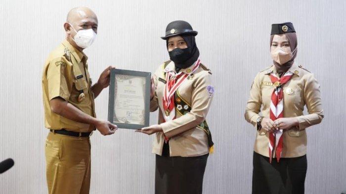 Perwakilan Kwarcab Jepara Raih Juara 2 Eagle Scout Awards Jateng, Bupati Dian Sampaikan Apresiasi