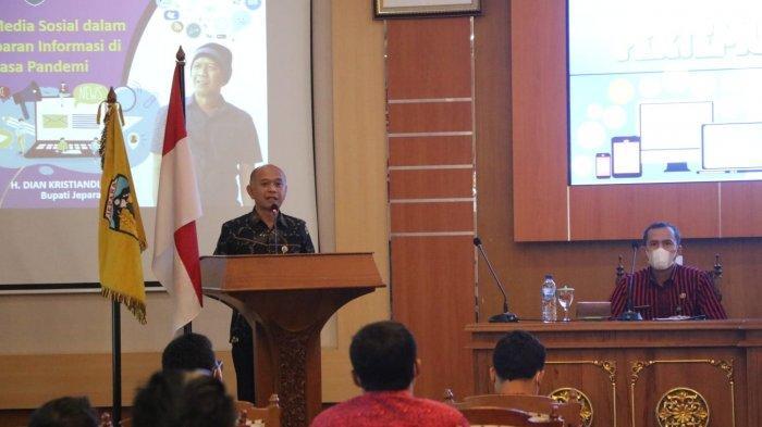Bupati Dian Kristiandi Ajak Penggiat Medsos di Jepara Jadi Agen Penyebar Informasi Positif