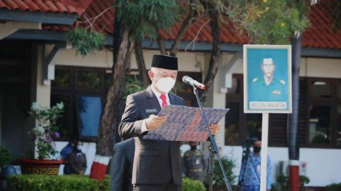 Bupati Dian Pimpin Upacara Hari Kesaktian Pancasila, Ingatkan Banyak Ancaman Terhadap NKRI