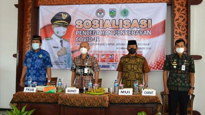 Kasus Positif Covid di Kecamatan Kembang Sisa 2 Orang, Bupati Jepara Minta Warga Tetap Patuhi Prokes