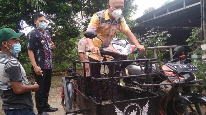 Cerita Jimin Kelola Bengkel Motor Khusus Difabel Diapresiasi dari Bupati Jepara