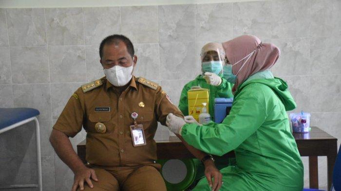 Vaksinasi Tahap Pertama di Karanganyar Capai 37 Persen
