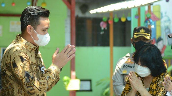 Bupati Kendal Dico Ganinduto Monitoring Pelaksanaan PTM Terbatas dari SD hingga SMP