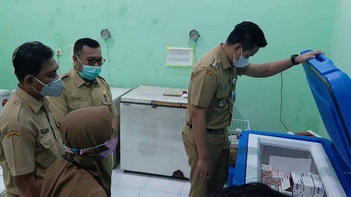 Bupati Kendal Dico Ganinduto Monitoring Ketersediaan Vaksin dan Oksigen