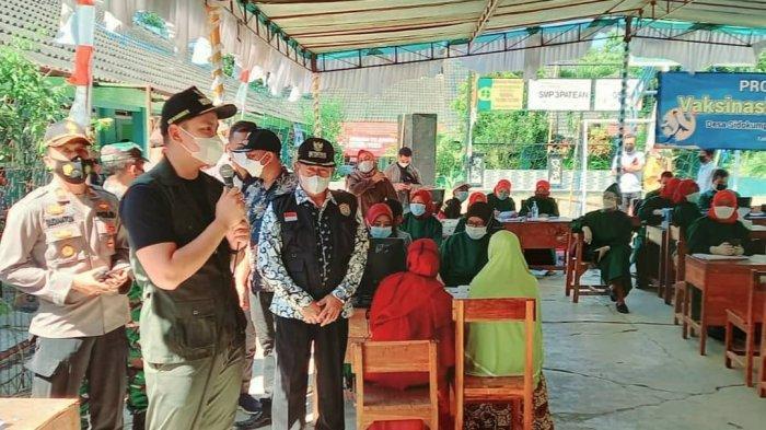 Bupati Kendal Dico Ganinduto Tinjau Vaksinasi Covid-19 di Sidokumpul Patean