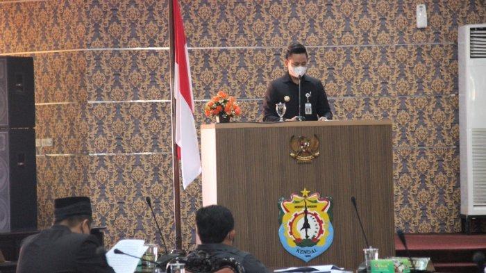 Bupati Dico Sampaikan Rancangan KUPA dan PPASP 2021 di Rapat Paripurna DPRD Kendal