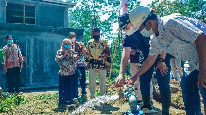 Bupati Dico Resmikan Pamsimas Sumur Air Dalam di Purwogondo Boja Kendal