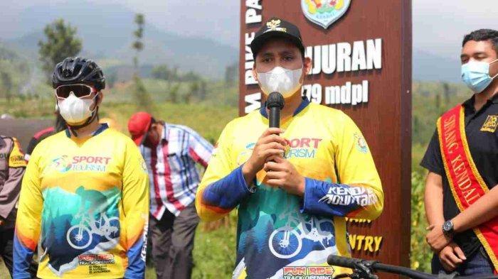 Bupati Kendal Resmikan Lintasan Downhill bagi Pesepeda di Kenjuran Sukorejo