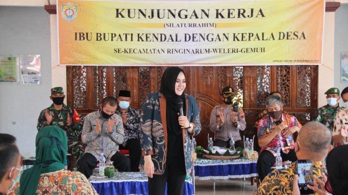 Bupati Kendal Mirna Annisa Silaturahmi ke Paguyuban Kades Eks Kecamatan Weleri