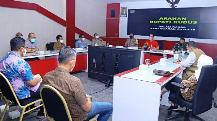Angka Covid-19 Melonjak Pesat setelah Lebaran, Bupati Kudus HM Hartopo Perintahkan Prokes Diperketat