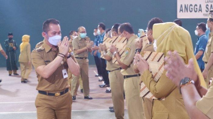 Lantik 119 Pejabat Pemkab, Bupati Kudus HM Hartopo Minta Jangan Ada Manuver