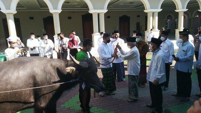 Bupati Hartopo Serahkan Kerbau untuk Hewan Kurban: Filosofi Kanjeng Sunan Kudus