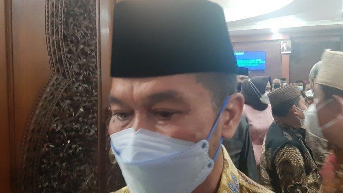 Bupati Kudus HM Hartopo Targetkan Vaksinasi Guru Rampung Juli 2021