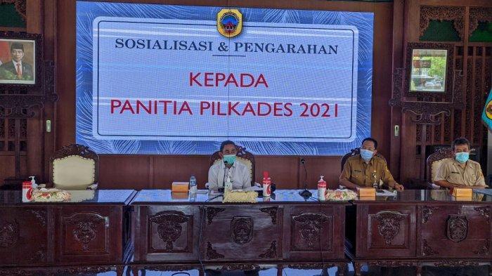 Bupati Pati Haryanto: Jangan Sampai Pilkades Serentak 10 April 2021 Timbulkan Klaster Covid-19
