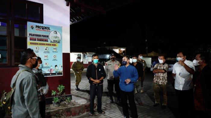 Bupati Pati Haryanto Monitor Sejumlah Desa yang Warganya Sedang Isolasi Mandiri