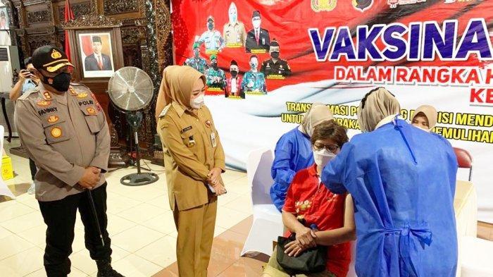 1.470 Warga Purbalingga Ikuti Vaksin Massal, Bupati Tiwi Apresiasi Antusiasme Masyarakat yang Tinggi