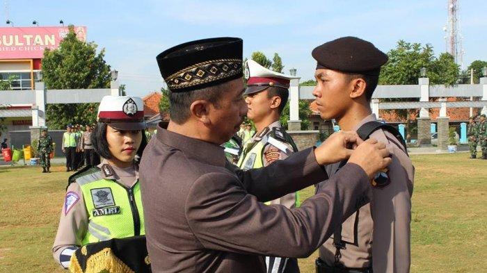 Bupati Rembang Bacakan Amanat Kapolri Saat Gelar Pasukan Ops Ramadniya Candi 2017