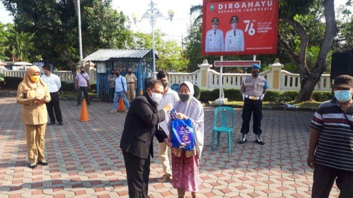 Bantuan PPKM Darurat, Pemkab Semarang Salurkan 23 Ribu Paket Sembako