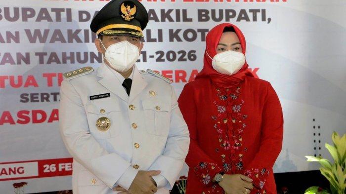 Bupati Semarang Ngesti Enggan Komentar Soal Pemanggilan KPK: Enggak Enggak. . .