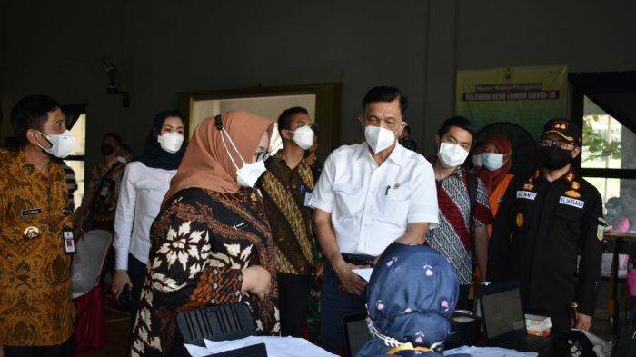 Luhut Beri Target Vaksinasi Corona di Sragen, Bupati Yuni: Kecil