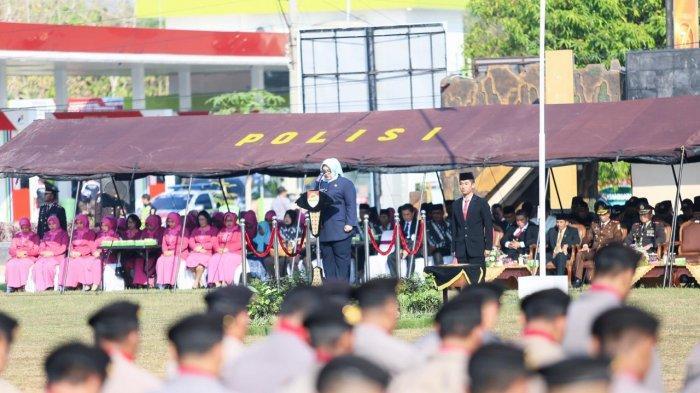 HUT Ke-73 Bhayangkara di Sragen, Bupati Yuni Pimpin Langsung Upacara