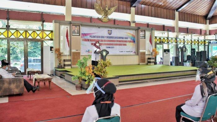 Bupati Umi Lantik 154 Pejabat Fungsional Kabupaten Tegal Hasil CPNS 2018