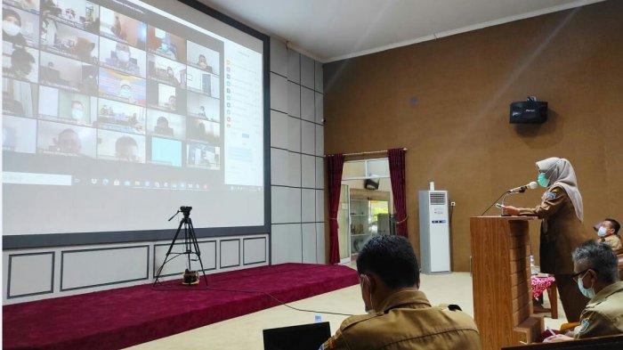 Adanya Pandemi, Realisasi Capaian Indikator Kinerja Pembangunan Kabupaten Tegal 72,03 Persen