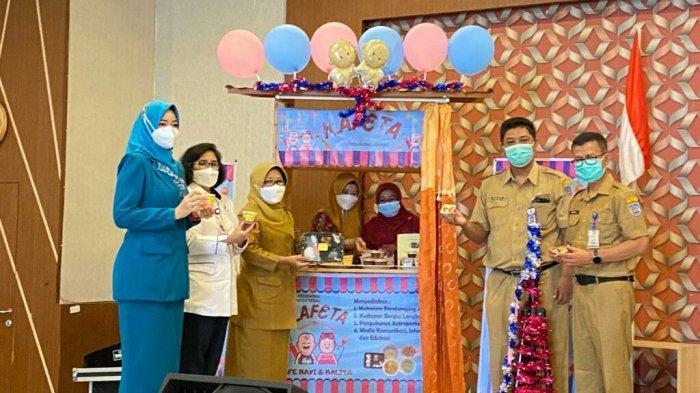 Dinkes Kabupaten Tegal Launching Kafe Bayi dan Balita Kafeta, Ini Lho yang Disediakan