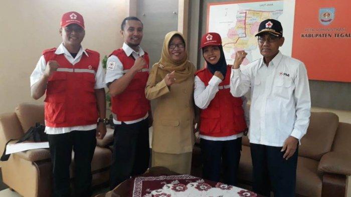 Tiga Relawan PMI Kabupaten Tegal Diberangkatkan Ke Palu, Ini Keahlian Mereka