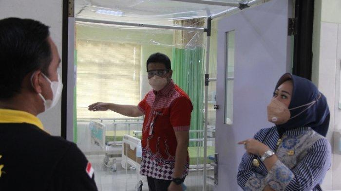 Bupati Tiwi Memastikan Ketersediaan Oksigen Rumah Sakit di Purbalingga Mencukupi