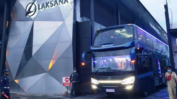 Ada Tanda Tangan Pemilik Pabrik, Yuk Intip Mewahnya Bus Baru PR Sukun Kudus