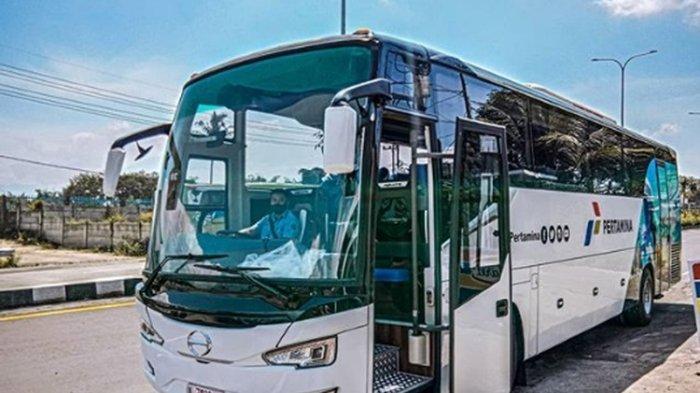 Saat Tren Bus Double Glass, Tentrem Produksi Bus Tanpa Bando Alias Single Glass