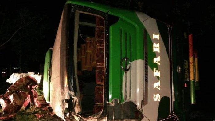UPDATE Kecelakaan di Tol Cipali, 6 PenumpangExpander dan 3 Penumpang Innova Tewas