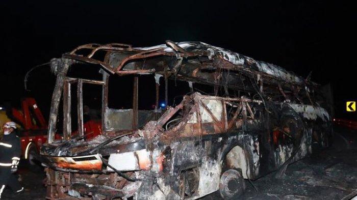 Kecelakaan dan Terbakar, 14 Penumpang Bus di Ekuador Tewas