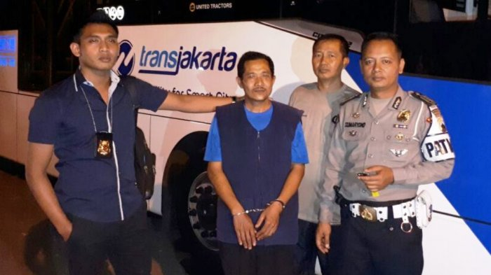 Sentot yang Bawa Kabur Bus Transjakarta Bilang Dapat Bisikan Gaib Seperti Ini