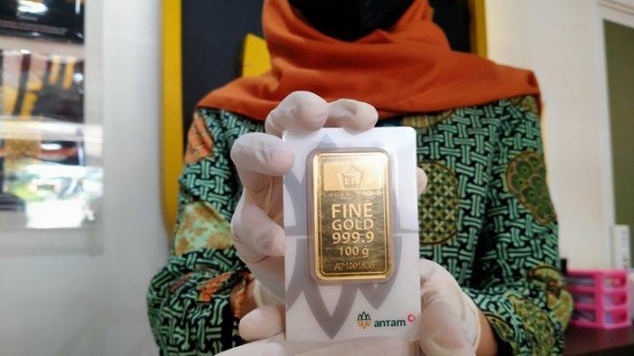 Harga Emas Antam di Semarang Selasa 5 Oktober 2021, Turun Rp 2.000 Hari Ini, Ini Daftar Lengkapnya